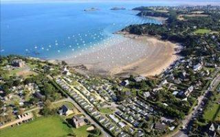 Camping Port-Mer vue aérienne